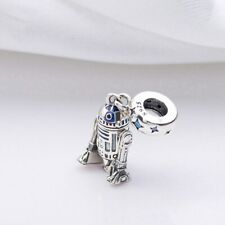 Genuine Silver 925 Stamped Star Wars R2-D2 Droid Beautiful Gift Charm
