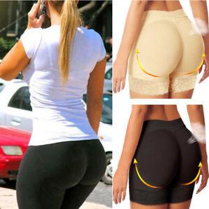 Women Butt Lifter Body Shaper Padded Hip Enhancer Underwear Pants Hip Up Briefs