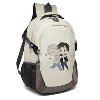 YURI!!! on ICE Victor Nikiforov Oxford Cloth Backpack Shoulder Bag