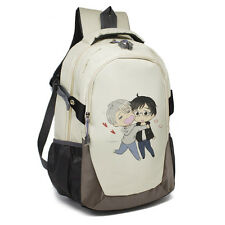 YURI!!! on ICE Victor Nikiforov Oxford Cloth Backpack Shoulder Bag