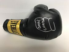 Omar Chavez Signed Autograph Everlast Boxing Glove