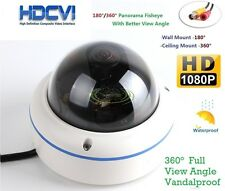 180/360 Degree Panoramic camera HD-CVI 1080P Vandal Proof CCTV Dome Camera
