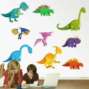 DINOSAUR BABY ANIMAL ZOO WALL STICKER NURSERY/KIDS/GIRLS/BOYS ROOM