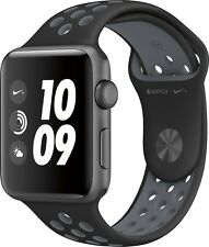 42mm Apple Watch Series 2  Nike+ Space Gray Case Black Cool Gray Nike Sport Band