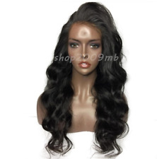 Pre Plucked Lace Front Human Hair Wigs Body Wave Baby Hair Natural Hairline wig