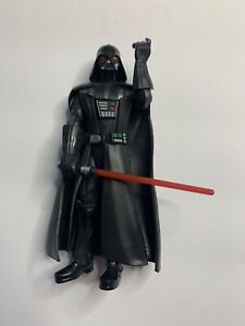 Hasbro Star Wars Galaxy of Adventures Darth Vader Action Figure With Lightsaber