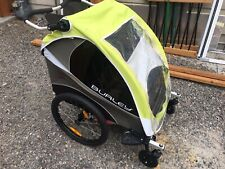 Burley d'lite Double Trailer With Suspension And Stroller Adapter