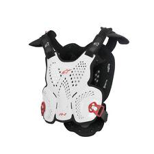 Pare-Pierre Protection Taille Unique Adulte Moose Racing Taille M/L Blanc/Noir