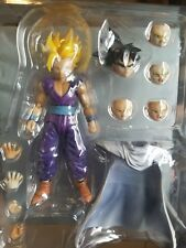 SH Figuarts Dragonball Z SDCC U.S. Exclusive Super Saiyan Son Gohan. Custom head