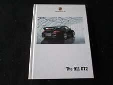 2009 2008 Porsche 911 GT2 Carrera Catalog 997 GT-2 HARDCOVER Sales Brochure