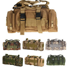 Nylon Sports Tactical Bag Pockets Gym Duffle Carry Shoulder Camera Bag & Strap