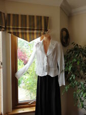 Gorgeous White Jacket from Esthis, size UK10, EU 34, New with tags