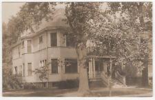 Rare WELLESLEY COLLEGE RPPC RP Real Photo Postcard DORM Massachusetts 1920s MASS