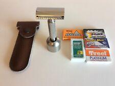Exec. Shaving Co. Braveheart double-edge/DE safety razor plus accessories