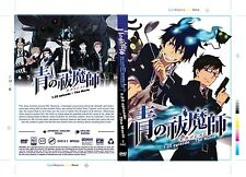 DVD Blue Exorcist Episode 1-25 END + The Movie Eng Dubbed All Region FREE SHIP