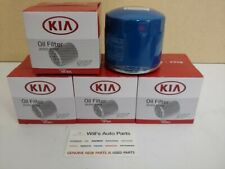 GENUINE NEW ENGINE OIL FILTER  X 5EA SUITS KIA RIO 2010-2011 1.4 PETROL