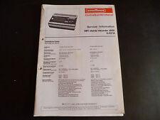 Original Service Manual  Nordmende Hifi stereo Recorder 3000