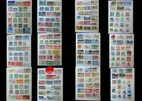 Large Stamp Collection From Ireland & The United States, Free shipping Worldwide