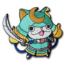 Yo Kai Yokai Watch Samurai Patch Iron on Kids Badge Shogunyan Bushinyan Game Sew