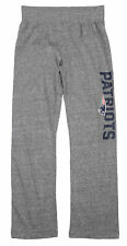NFL Youth Girls New England Patriots Fashion Lounge Pants, Heathered Grey