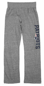 NFL Youth Girls New England Patriots Fashion Lounge Pants, Heathered Grey