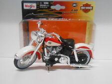 HARLEY DAVIDSON 1958 FLH DUO GLIDE MOTO BIKE MAISTO 1/18