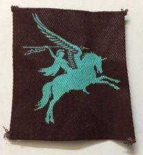 Lovely Original WW2 World War 2 British Airborne Pegasus Cloth Badge RDL668