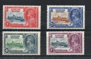 FALKLAND ISLANDS SG 139-42 GV 1935  SILVER JUBILEE M/M