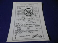 """4.2 Litre Bentley Supercharged Controls Older Reprint Photo 6 1/2"""" by 8 1/2"""""""