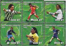 Mozambique 1823-1828 neuf avec gomme originale 2001 Football-WM 2002