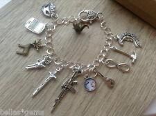 The 100 Charm Bracelet, TV SHOW inspired The 100 Bracelet, Clark, Lexa, Bellamy