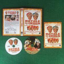 (2 DVD) NATALE IN INDIA Massimo Boldi Christian De Sica (2004) Sped GRATIS !!
