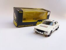 N.O.S PEUGEOT 504 COUPE V6 SOLIDO TOY + BOX