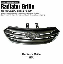 OEM Front Radiator Hood Grille W Camera holl For HYUNDAI 2016-2017 Santa Fe DM