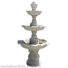 Brunnen Klassische weißem Marmor Classic Design White Marmor Old Style Brunnen