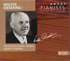 "CD x 2 PHILIPS Great Pianists 20th Century 32: 456 811-2 ""Walter Gieseking I"""
