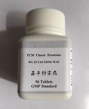 2x Wu Zi Yan Zong Wan Male Infertility Low Sperm Count Energy 56 Tablets Shizhen