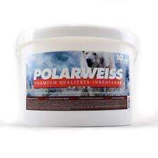 (2,99 EUR/l) POLARWEISS Wandfarbe Wohnraumfarbe weiss Innenwandfarbe 10 Liter