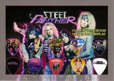 STEEL PANTHER - A5 SIZE LIMITED EDITION - GUITAR PICK DISPLAY