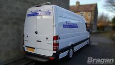 To Fit 2014 - 2017 Volkswagen Crafter Stainless Steel Rear Roof Light Bar + LEDS
