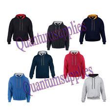 Gildan Cotton Blend Hooded Plain Hoodies & Sweats for Men