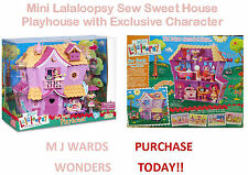 Mini Lalaloopsy Sew Sweet House Playhouse with Exclusive Character - GREAT GIFT