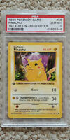 Pokemon Pikachu Red Cheeks 58/102 1st Edition Base Set PSA 10 1999 Pokemon