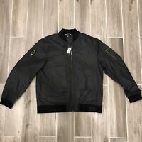 Puma x The Weeknd XO Bomber Jacket Men's Size XL Black Embroidered NEW w/ Tags