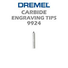 "New Authentic Dremel Carbide Point Tip Engraving Bit 9924 1/8"" Shank"