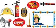 Amscan 9902191 Pompier Sam Photo Ensemble D'accessoires - accessoires