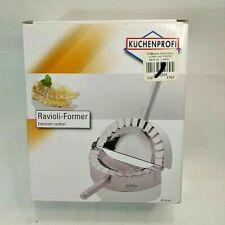 "Kuchenprofi 4"" Stainless Steel Ravioli - Pierogi - Dumpling Maker / Mold"