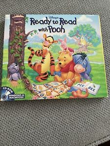 VTG DISNEY'S READY TO READ WITH POOH AGES 3-6 CD-ROM Windows 95/98