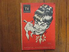 Sept-1965 Cleveland Plain Dealer TV Magazine(TAMMY/DEBBIE  WATSON/ JUDY GARLAND)