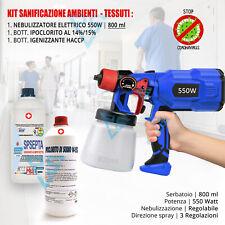 Disinfettante Ambienti Nebulizzatore elettrico Sanificatore Anti Batterico casa
